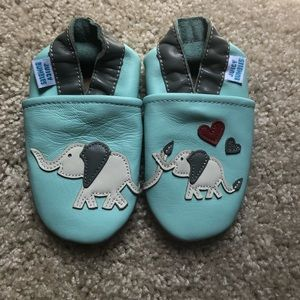 Other - Soft Sole Leather Baby Shoes Moccasins